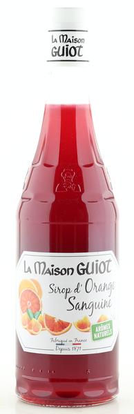 La Maison Guiot Sirup Blutorange 700ml