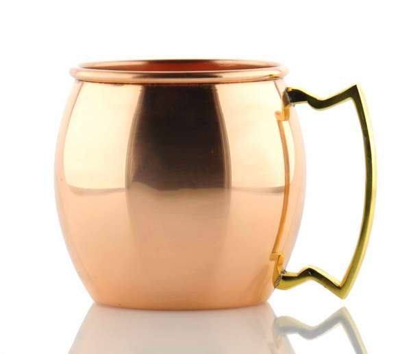 Moscow Mule Kupferbecher Shiny Smooth
