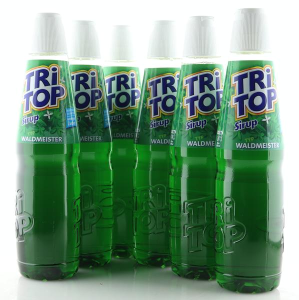 6 X TRi TOP Sirup Waldmeister 0,6L