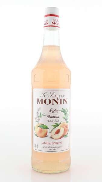 Monin Sirup weißer Pfirsich