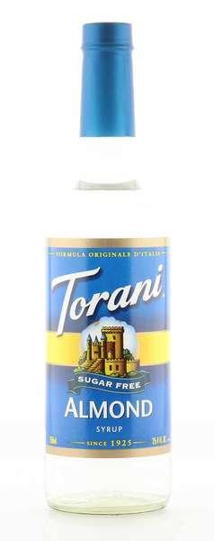 Torani Sirup Mandel zuckerfrei 750ml Flasche