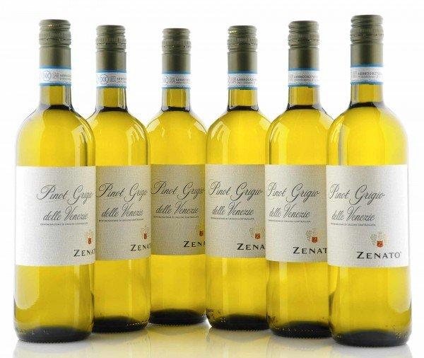 6 X Zenato Pinot Grigio delle Venezie