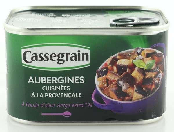 Cassegrain Auberginen nach provenzalischer Art