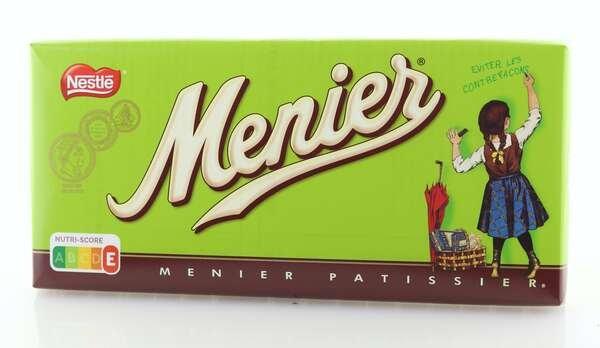 Nestlé Menier dunkle Schokolade zum Backen