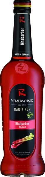 Riemerschmid Bar-Sirup Rhabarber 0,7L