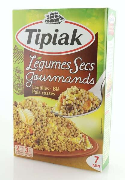 Tipiak Gourmet getrocknetes Gemüse 330g