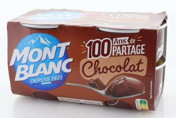 Mont Blanc Cremedessert Schokolade 4x125g