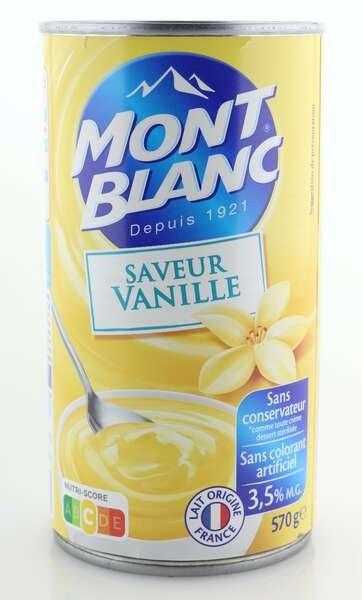 Mont Blanc Cremedessert Vanille 570g