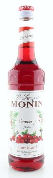 Monin Sirup Cranberry