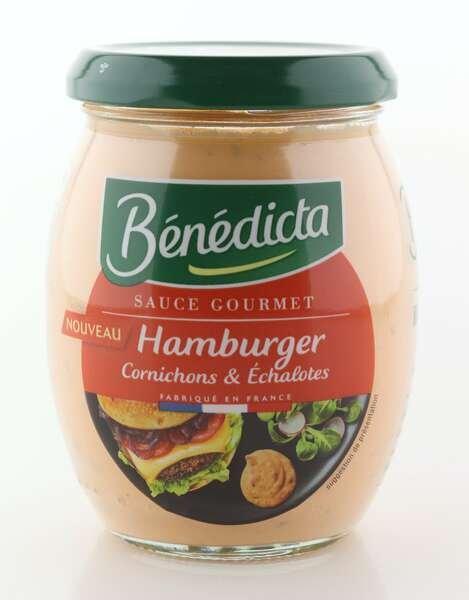 Benedicta Gourmet Hamburger Sauce 260g Glas