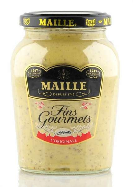 Maille feiner Gourmet Senf im 340gr. Glas