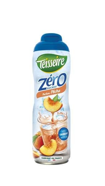 Teisseire Zero Sirup Pfirsich zuckerfrei 600ml