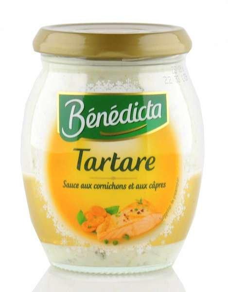 "Benedicta Sauce ""Tartare"" im 260g Glas"