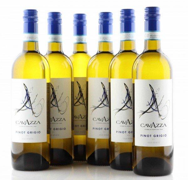 6 X Cavazza Pinot Grigio Delle Venezie