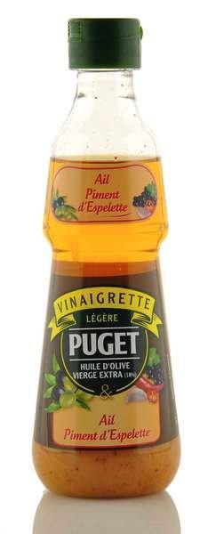 Puget Dressing mit Olivenöl, Knoblauch und Chili 330ml
