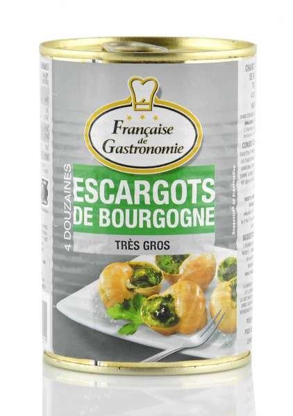 Francaise de Gastronomie Burgunder Schnecken extra groß 4 Dutzend