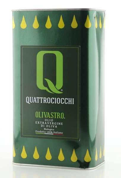 Quattrociocchi Olivastro Olivenöl extra vergine 3L - BIO