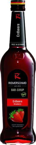 Riemerschmid Bar-Sirup Erdbeere 0,7L