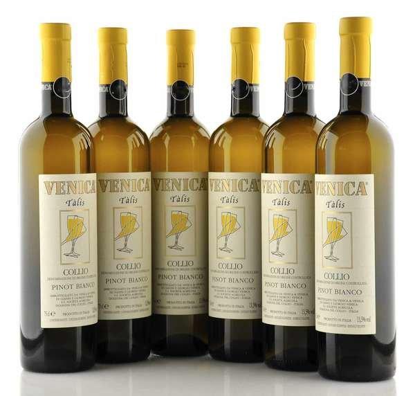 6 X Venica Talis Collio Pinot Bianco