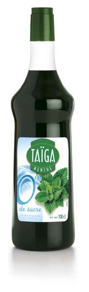 Teisseire Taiga 0% Sirup Minze mit Stevia zuckerfrei 1L