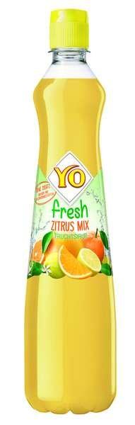 YO fresh Sirup Zitrus-Mix