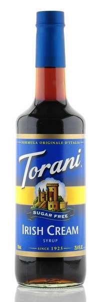 Torani Sirup Irish Cream zuckerfrei 750ml Flasche