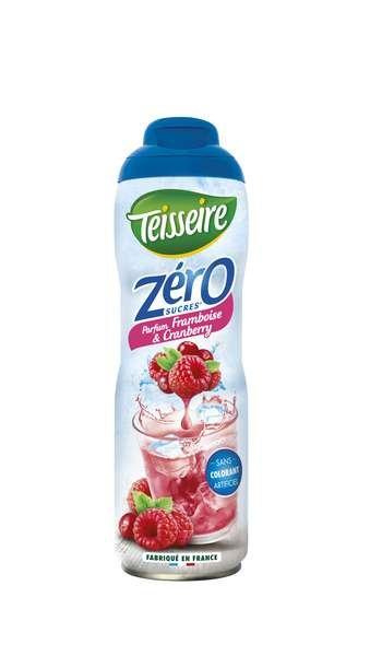 Teisseire Zero Sirup Cranberry-Himbeere zuckerfrei 600ml