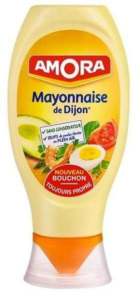 Amora Mayonnaise de Dijon 710g Standtube aus Frankreich