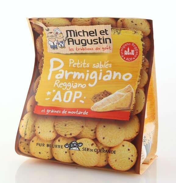Michel et Augustin Aperitif-Kekse mit Parmesan Käse 100g
