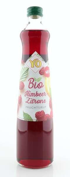 YO BIO Sirup Himbeer-Zitrone