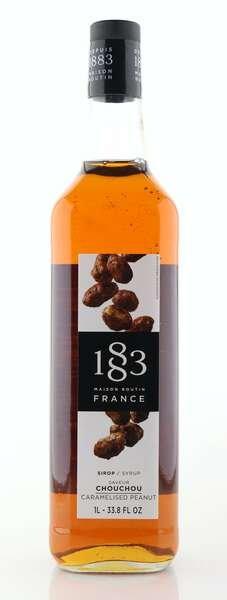 1883 Maison Routin Sirup karamellisierte Erdnuss