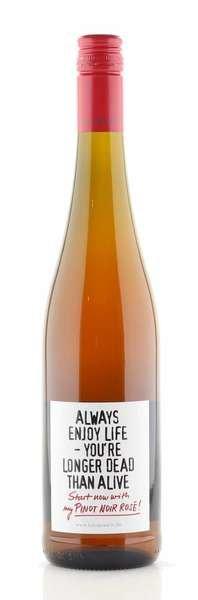 "Emil Bauer Pinot Noir Rosé ""Always enjoy life"""