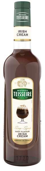 Bar Sirup Irish Cream - Teisseire Special Barman - 700ml