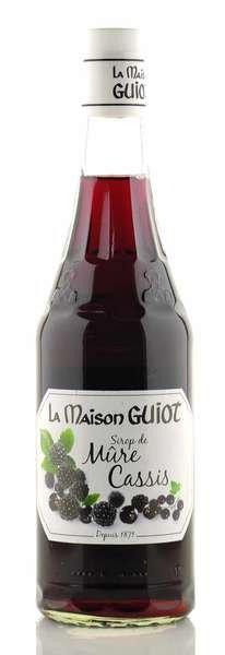 La Maison Guiot Sirup Brombeere & schwarze Johannisbeere 700ml
