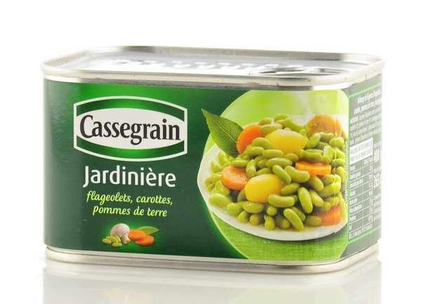 Cassegrain Gartengemüse 400g / Atg. 265g
