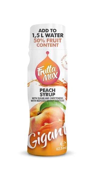Frutta Max Gigant Fruchtsirup mit Pfirsich-Geschmack 62,5ml