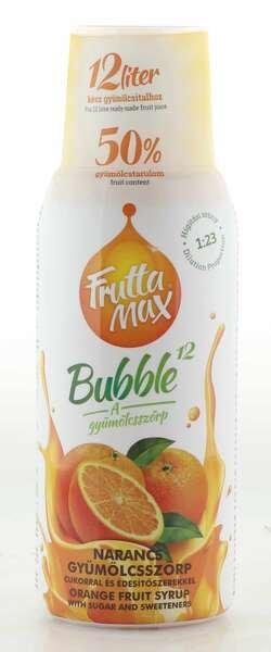 Frutta Max Bubble Orangen Sirup