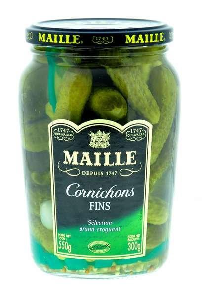 Maille Gurken Cornichons Fins 550g / Atg. 300g