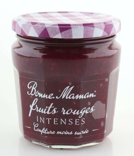 """Bonne Maman Intense (intensiv fruchtig) """"rote Früchte"""" 335g Glas"""