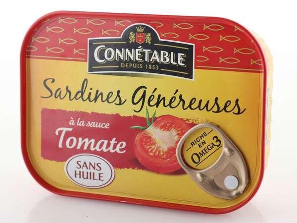Connetable Sardinen mit Tomaten 140g