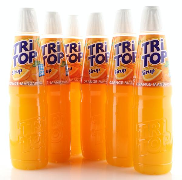 6 X TRi TOP Sirup Orange-Mandarine 0,6L