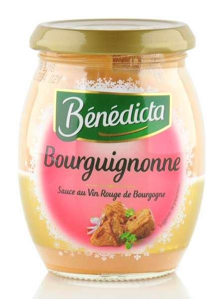 """Benedicta """"Bourguignonne"""" Burgunder Sauce im 270g Glas"""
