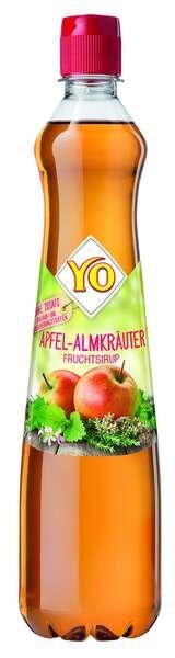 YO Sirup Apfel-Almkräuter
