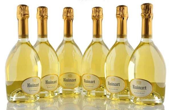 6 X Ruinart Champagner Blanc de Blancs 0,75l
