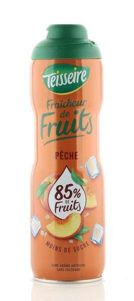 Teisseire Sirup mehr Frucht - weniger Zucker Pfirsich 600ml
