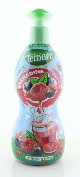 Teisseire Sirup Grenadine in der 700ml Dosierflasche