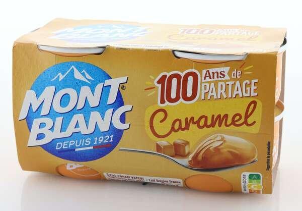 Mont Blanc Cremedessert Karamell 4x125g