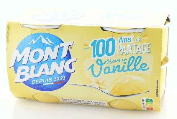 Mont Blanc Cremedessert Vanille 4x125g