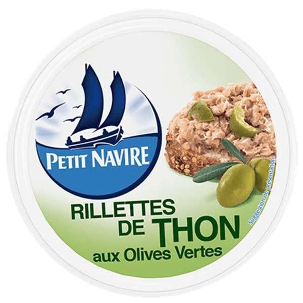 Petit Navire Rillettes de Thon Thunfisch mit grünen Oliven 125g
