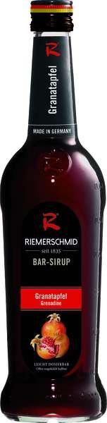 Riemerschmid Bar-Sirup Grenadine (Granatapfel) 0,7L